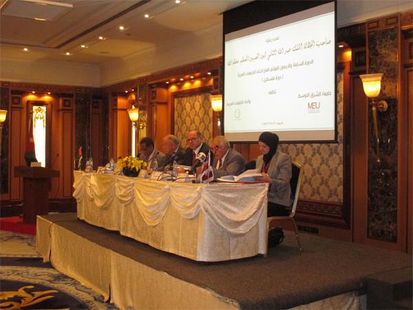 حضور مؤتمر إتحاد الجامعات العربية السابع والأربعون