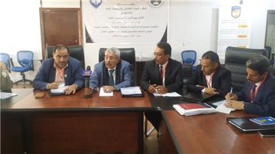 مناقشة مشروع اللائحة الموحدة للدراسات العليا بالجامعات اليمنية وزارة التعليم العالي والبحث العلمي اليمن صنعاء الأكاديمية اليمنية للدراسات العليا