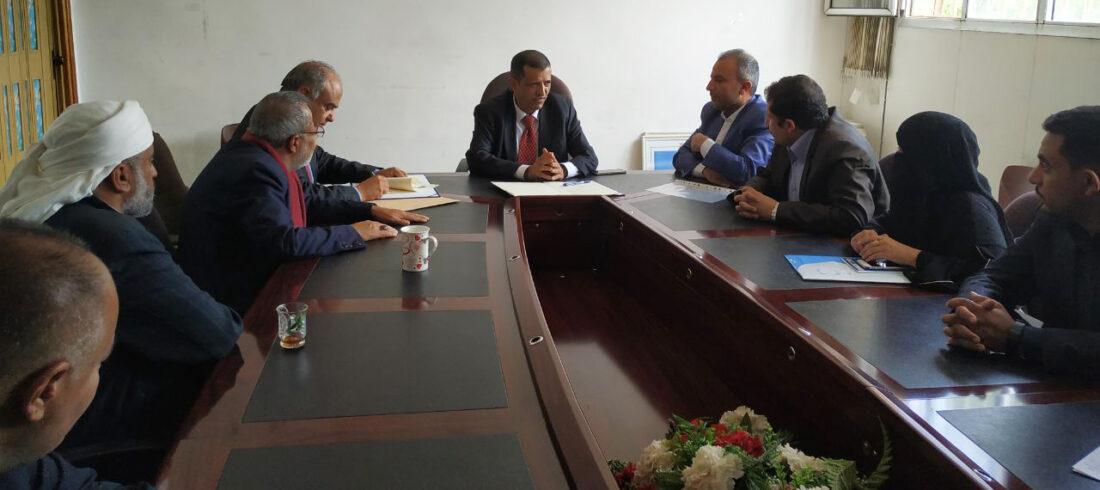 توقيع اتفاقية تعاون مشترك بين الأكاديمية اليمنية للدراسات العليا ووزارة التعليم الفني والتدريب المهني